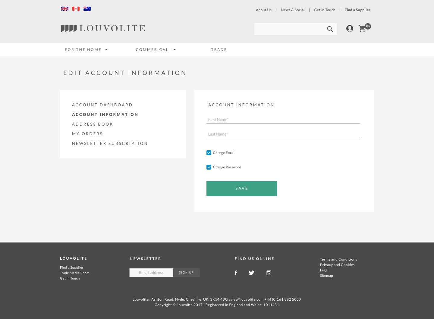Louvolite-Edit-Account-Information
